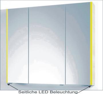PCON Spiegelschrank | LED-Beleuchtung | 112 cm