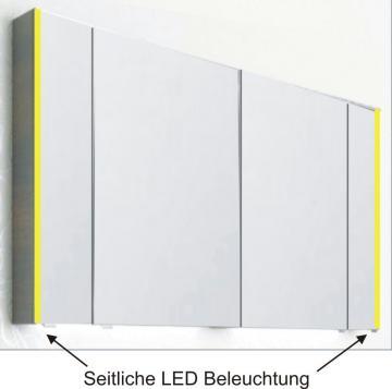 PCON Spiegelschrank | LED-Beleuchtung | 120 cm