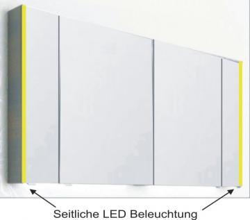 PCON Spiegelschrank | LED-Beleuchtung | 128 cm