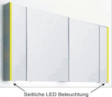 PCON Spiegelschrank | LED-Beleuchtung | 132 cm
