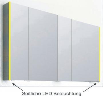 PCON Spiegelschrank | LED-Beleuchtung | 137 cm