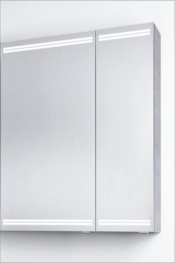PCON Spiegelschrank | LED-Beleuchtung | 66 cm