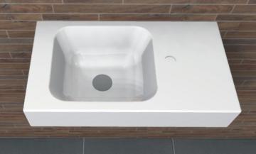 PCON Waschtisch A | Keramag iCon XS | 53 cm