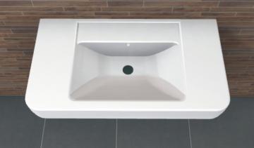 PCON Waschtisch O | Keramag Renova Nr. 1 Plan | 85 cm