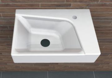 PCON Waschtisch C | Geberit XENO² rechts | 40 cm