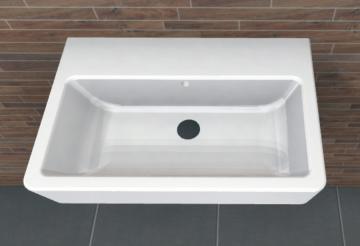 PCON Waschtisch D | Geberit Renova Nr. 1 Comprimo | 55 cm