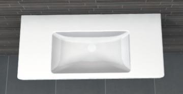 PCON Waschtisch E | Villeroy & Boch Subway 2.0 | 100 cm