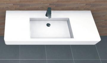 PCON Waschtisch R | Duravit Vero | 125 cm