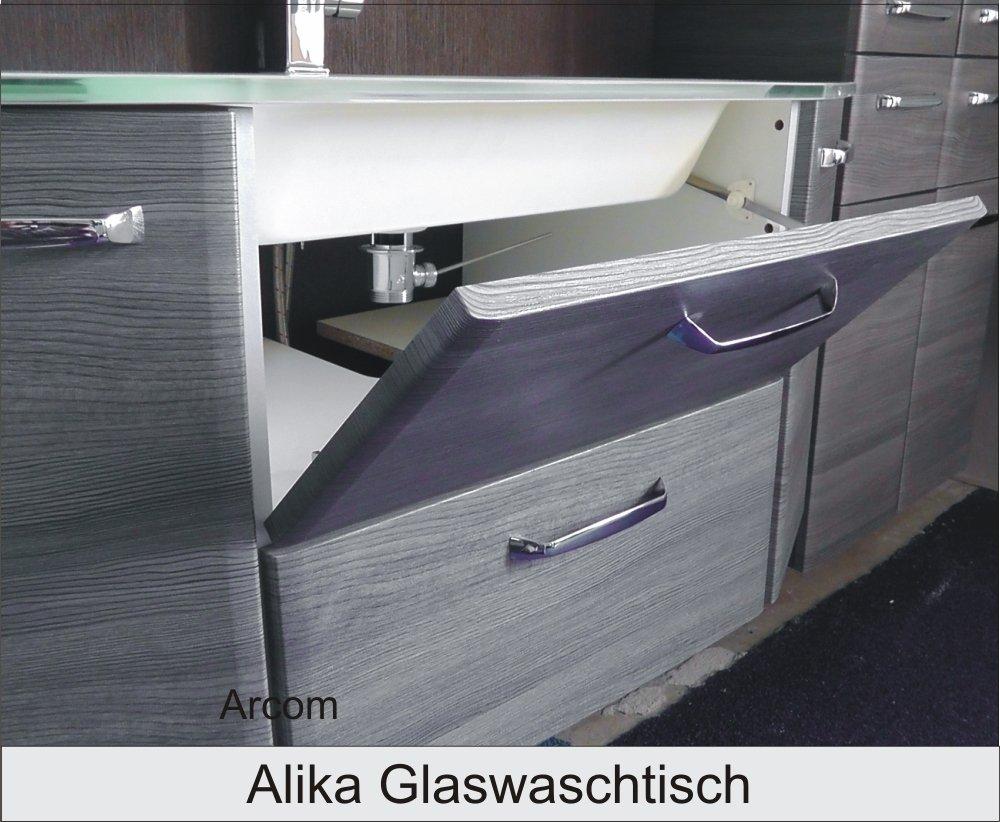 Pelipal Alika 110 cm Waschtisch | Glas | Arbersee