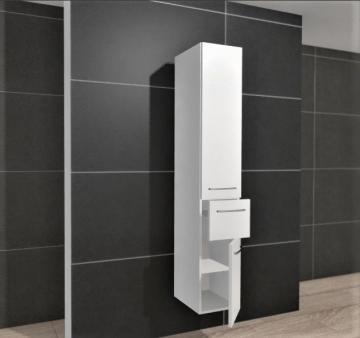 Pelipal Balto Badmöbel Hochschrank 30 cm + 2 Türen