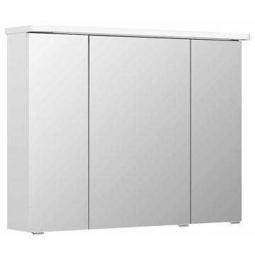 Pelipal Balto Spiegelschrank C + Kranzleuchte | 92 cm