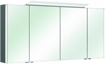 Pelipal Balto Spiegelschrank Typ II LEDplus | 152 cm + 4 Türen