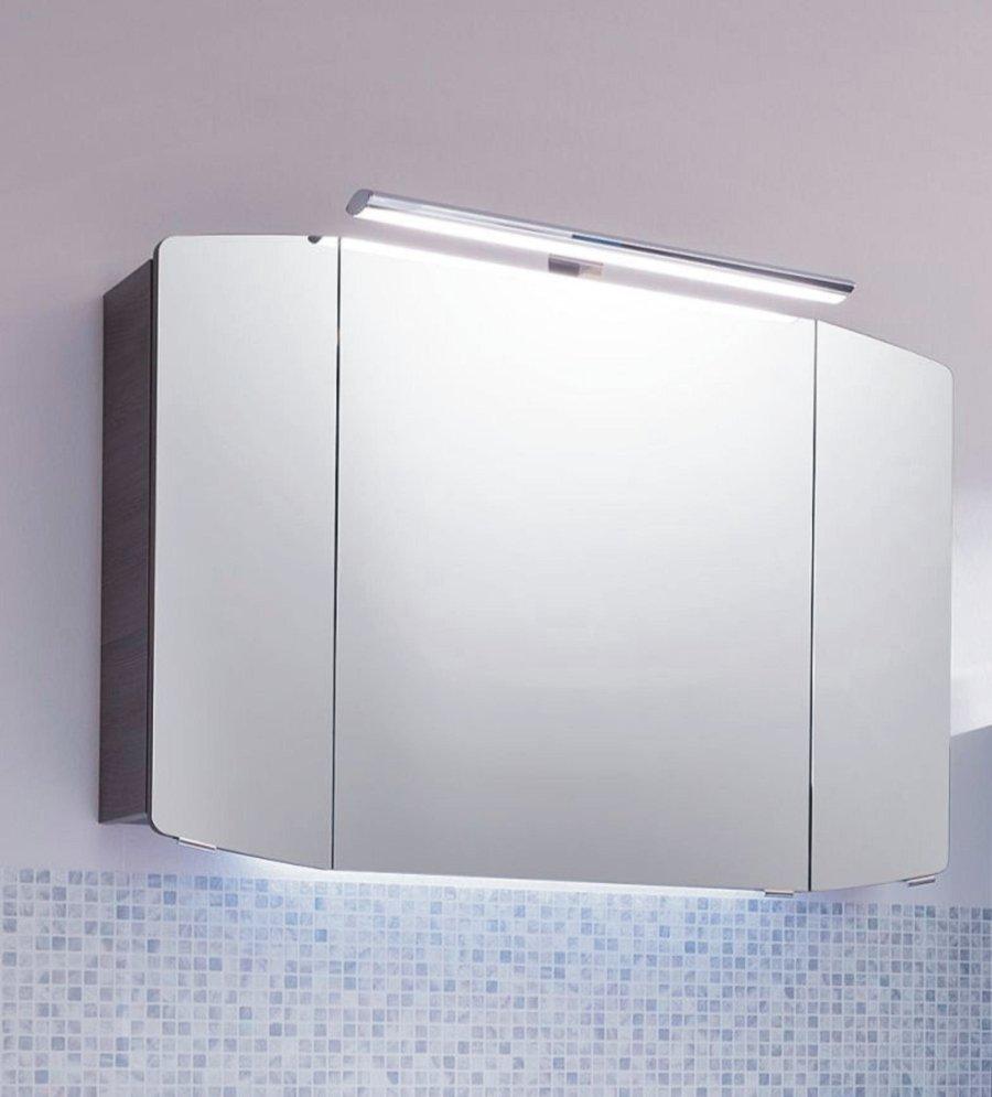 spiegelschank pelipal cassca 100 cm mit leuchte arcom center. Black Bedroom Furniture Sets. Home Design Ideas
