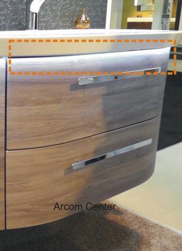 Pelipal Contea LED-Zusatzbeleuchtung für Waschtischunterschrank 86 cm