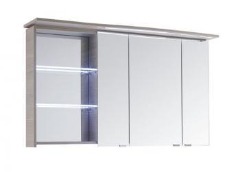 Pelipal Contea Badmöbel Spiegelschrank A mit LED-Beleuchtung im Kranz 119 cm Rechts