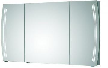 Pelipal Contea Badmöbel Spiegelschrank D mit LED-Beleuchtung in den Türen 120 cm