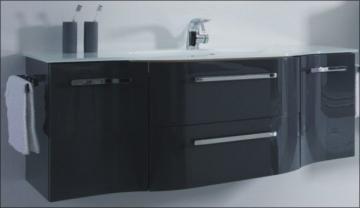 Pelipal Contea Badmöbel Waschtischunterschrank | 2 Türen + 2 Auszüge