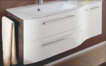 Pelipal Contea Waschtischunterschrank 2 Auszüge links + 1 Drehtür rechts