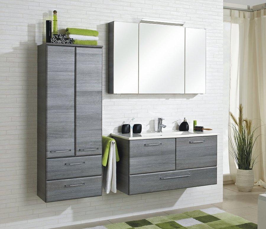 pelipal filo graphit badschrank breit badm bel arcom center. Black Bedroom Furniture Sets. Home Design Ideas