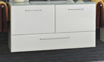 Pelipal Filo Weiß 100 cm Waschtisch-Unterschrank