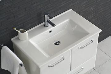 Pelipal Filo Weiß 75 cm Waschtisch | Keramik