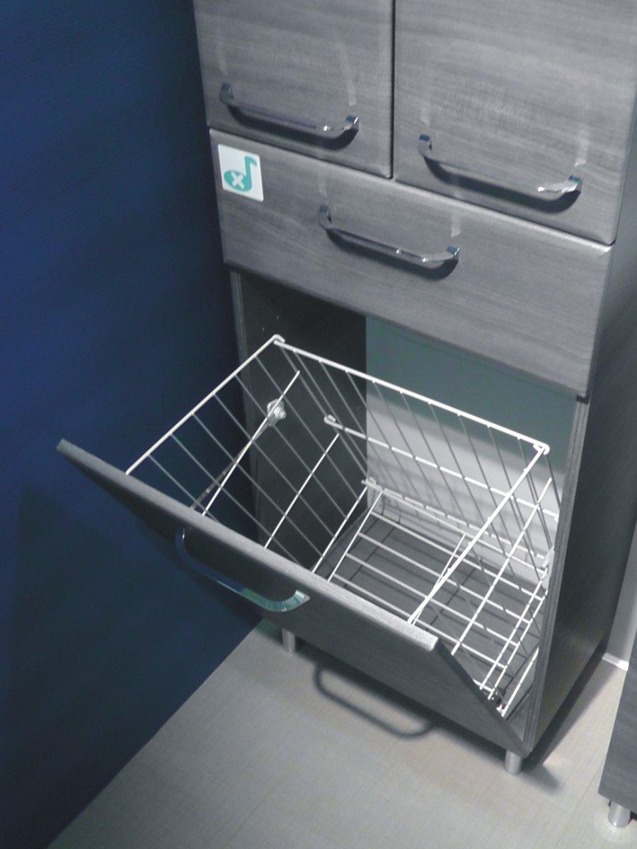 Bad hochschrank mit wäschekorb  PELIPAL FILO BADSCHRANK BADMÖBEL SHOP - Arcom Center