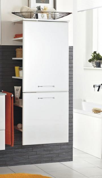 Pelipal Filo Weiß Midischrank Offen 50 cm