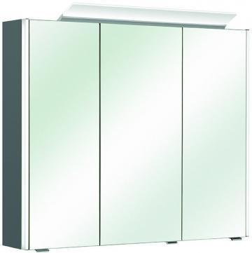 Pelipal Neutraler Spiegelschrank S10-SPS 11 LEDplus Typ II 82 cm