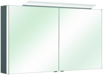Pelipal Neutraler Spiegelschrank S10-SPS 20 LEDplus Typ II 122 cm