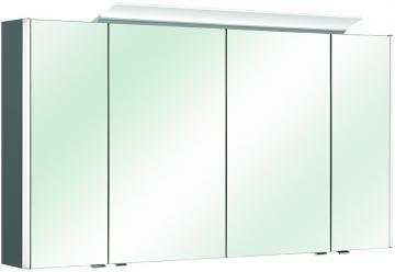 Pelipal Neutraler Spiegelschrank S10-SPS 24 LEDplus Typ II 132 cm