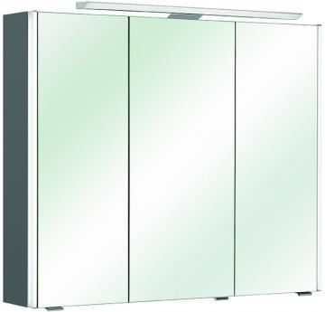 Pelipal Neutraler Spiegelschrank S10-SPS 11 LEDplus Typ I 82 cm