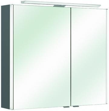 Pelipal Neutraler Spiegelschrank S10-SPS 09 LEDplus Typ I 77 cm