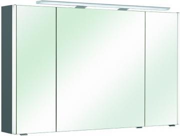 Pelipal Neutraler Spiegelschrank S10-SPS 18 LEDplus Typ I 112 cm