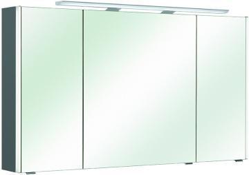 Pelipal Neutraler Spiegelschrank S10-SPS 21 LEDplus Typ I 122 cm
