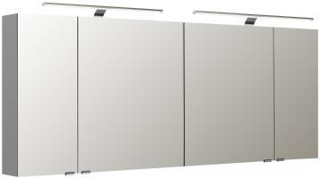 Pelipal Neutraler Spiegelschrank S5-SPSD 34 Doppelt verspiegelt Typ II 180 cm