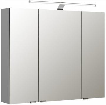 Pelipal Neutraler Spiegelschrank S5-SPSD 13 Doppelt verspiegelt Typ I 90 cm