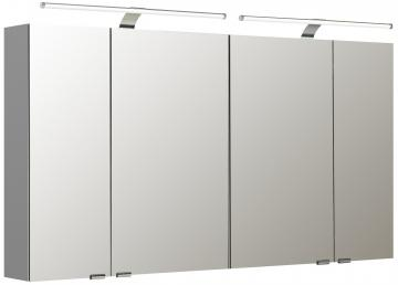 Pelipal Neutraler Spiegelschrank S5-SPSD 24 Doppelt verspiegelt Typ I 130 cm