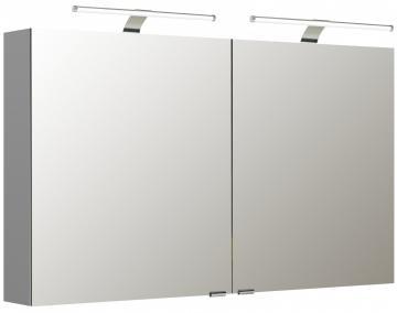 Pelipal Neutraler Spiegelschrank S5-SPSD 20 Doppelt verspiegelt Typ I 120 cm