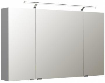 Pelipal Neutraler Spiegelschrank S5-SPSD 21 Doppelt verspiegelt Typ I 120 cm
