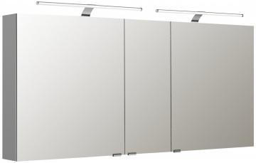 Pelipal Neutraler Spiegelschrank S5-SPSD 27 Doppelt verspiegelt Typ I 150 cm