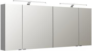 Pelipal Neutraler Spiegelschrank S5-SPSD 34 Doppelt verspiegelt Typ I 180 cm
