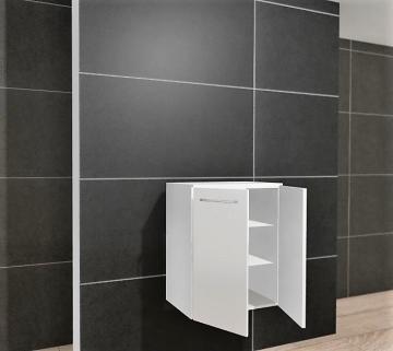 Pelipal PCON Highboard  | 2 Türen | Breite 60 cm | Höhe 96 cm