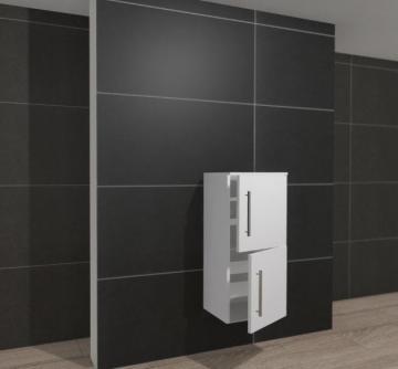 Pelipal PCON Highboard  | 2 Türen | Breite 45 cm | Höhe 96 cm