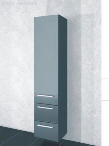 Pelipal PCON Hochschrank | 1 Tür + 2 Auszüge | Breite 45 cm | Höhe 184 cm