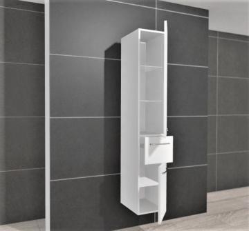 Pelipal PCON Hochschrank | 2 Türen + 1 Auszug | Breite 30 cm | Höhe 184 cm