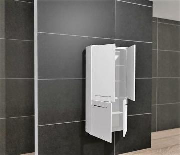 Pelipal PCON Midischrank | 4 Türen | Breite 60 cm | Höhe 136 cm