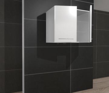 Pelipal PCON Wandschrank | 2 Drehtüren | Breite 90 cm | Höhe 88 cm