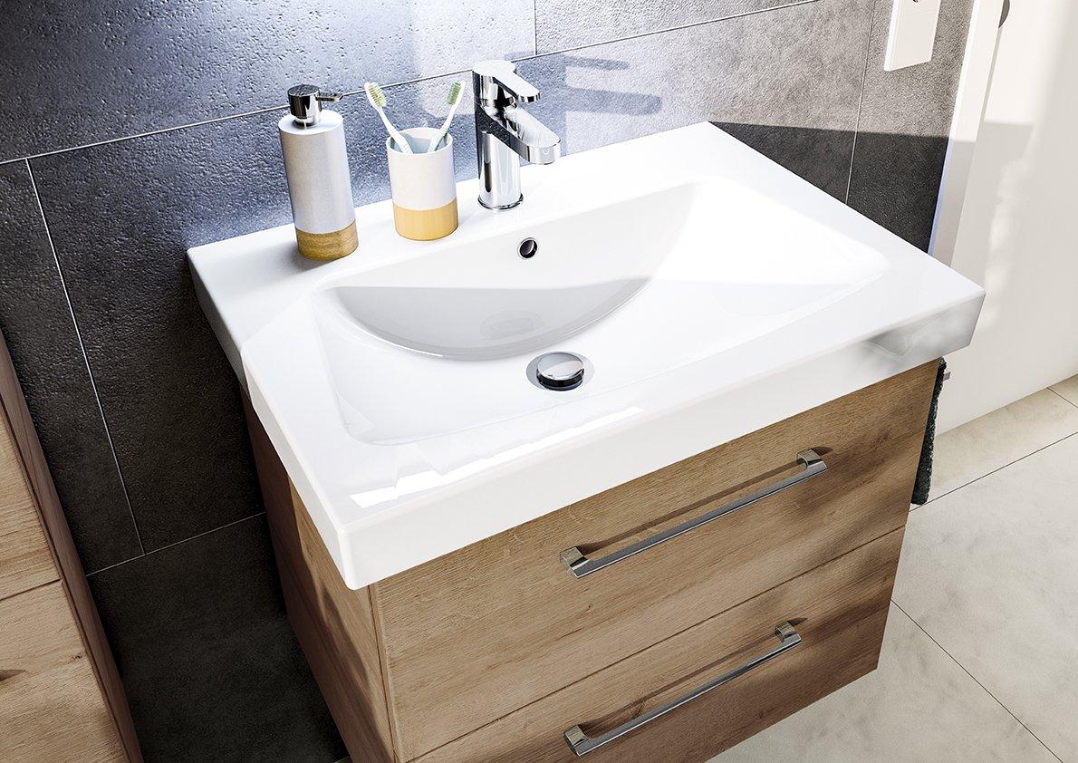 pelipal pineo waschtisch girona 65 cm badm bel. Black Bedroom Furniture Sets. Home Design Ideas