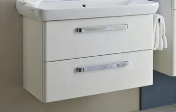 Pelipal Pineo 81 cm Waschtischunterschrank 2 Auszüge