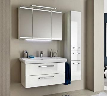Pelipal Pineo 97 cm  Set E | Spiegelschrank mit Lichtband